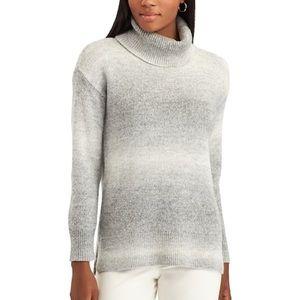 Chaps Grey Ombré Turtleneck Sweater Size XL